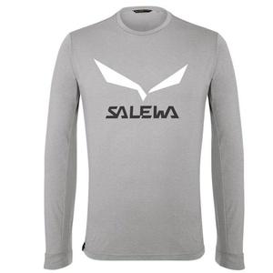 Tričko Salewa SOLIDLOGO DRY M L/S TEE 27340-0624