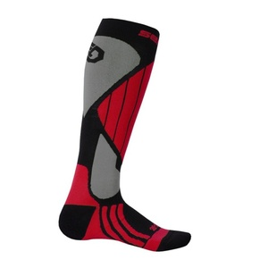 Ponožky Sensor Snow Pro čierna/červená/sivá 14200065