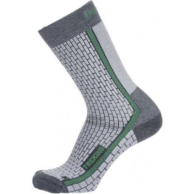 Ponožky Husky Trekking-New šedá/zelená, Husky