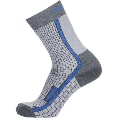 Ponožky Husky Trekking-New šedá / modrá, Husky