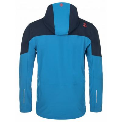 Pánska softshellová bunda Kilpi Presente-M modrá, Kilpi