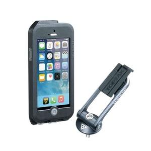 Obal Topeak Weatherproof RideCase pre iPhone 5 + SE čierna / šedá TT9838BG, Topeak