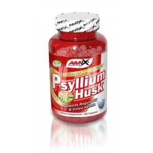 Amix Psyllium Husk 1500mg, 120 kapsúl, Amix