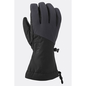 Rukavice Rab Pinnacle GTX Glove black / bl, Rab