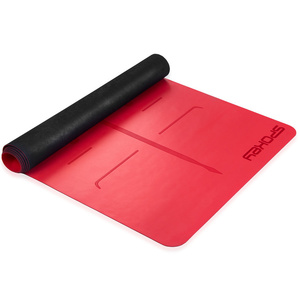 Gumové podložka na cvičenie Spokey JUDY červená 1,5 cm, Spokey