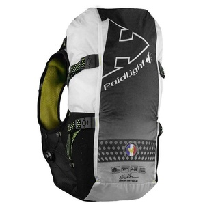 Bežecká vesta Raidlight Gilet LazerDry Responsive 20L+2*600ml Black/Yellow, Raidlight