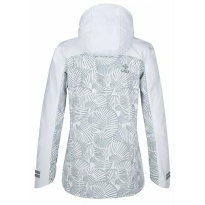 Dámska softshellová bunda Kilpi RAVIA-W biela, Kilpi