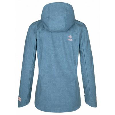 Dámska softshellová bunda Kilpi RAVIA-W modrá, Kilpi