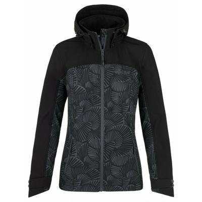 Dámska softshellová bunda Kilpi RAVIA-W tmavo šedá, Kilpi