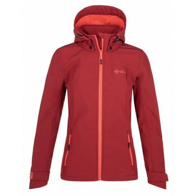 Dámska softshellová bunda Kilpi RAVIA-W červená, Kilpi