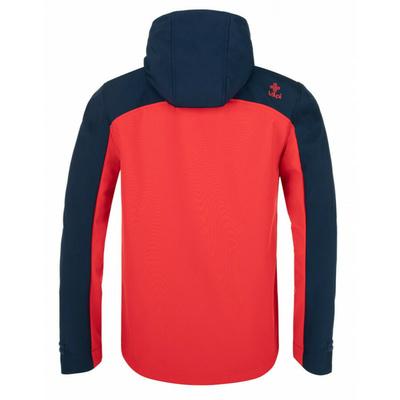 Pánska softshellová bunda Kilpi Ravi-M červená, Kilpi