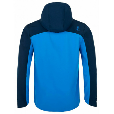 Pánska softshellová bunda Kilpi Ravi-M modrá, Kilpi
