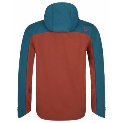 Pánska softshellová bunda Kilpi Ravi-M tmavo červená, Kilpi