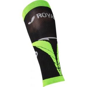 Kompresný lýtkové návleky ROYAL BAY® Air Black / Green 9688, ROYAL BAY®