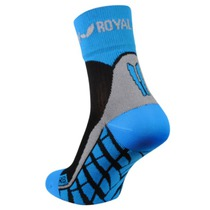 Ponožky ROYAL BAY® Air High-Cut black / blue 9588, ROYAL BAY®