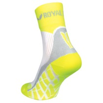 Ponožky ROYAL BAY® Air High-Cut white / yellow 0188, ROYAL BAY®