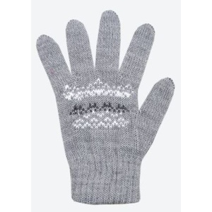 Detské pletené Merino rukavice Kama RB203 109, Kama
