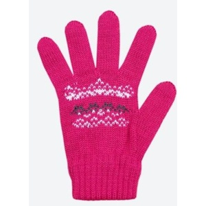 Detské pletené Merino rukavice Kama RB203 114, Kama