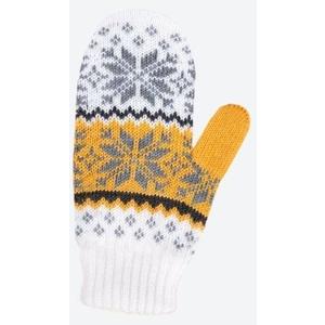 Detské pletené Merino rukavice Kama RB204 100, Kama