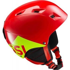 Lyžiarska helma Rossignol Comp J red RKGH508, Rossignol