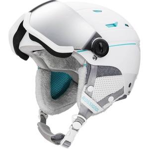 Lyžiarska helma Rossignol Allspeed Visor Impacts W white RKIH401, Rossignol