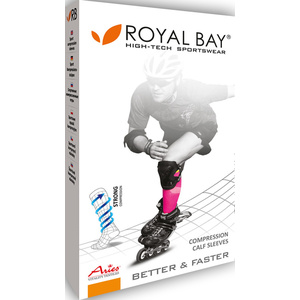 Kompresný lýtkové návleky ROYAL BAY® Classic Black 9999, ROYAL BAY®