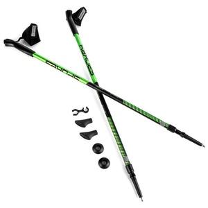 Palice Nordic Walking 2-dílné Spokey MEADOW II čierno-zelené, Spokey