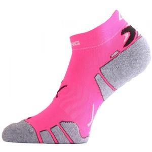 Ponožky Lasting RUN 450 ružová, Lasting
