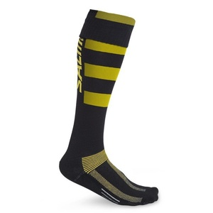 štucne SALMING CoolFeel Teamsock Long Black/Yellow, Salming