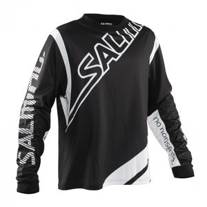 Brankársky dres Salming Phoenix Goalie Jsy JUNIOR Black/White, Salming