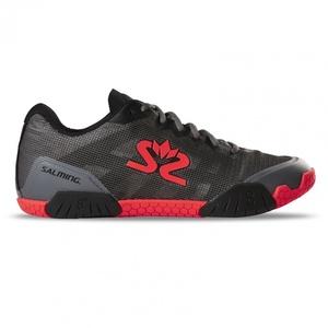 Topánky Salming Hawk Shoe Men Gunmetal / Red, Salming