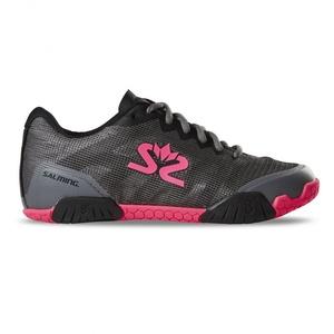 Topánky Salming Hawk Shoe Women Gunmetal / Pink, Salming