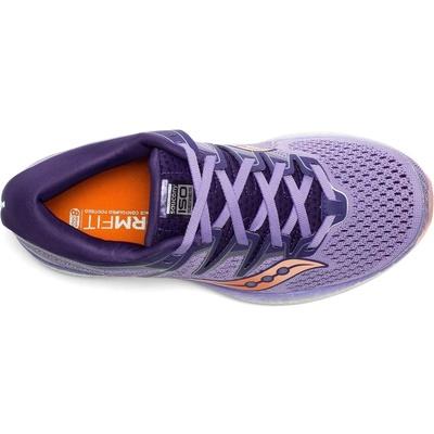 Dámske bežecké topánky Saucony Triumph Iso 5 fialová / marhuľová, Saucony