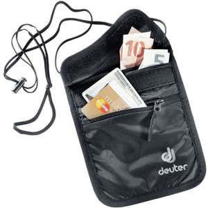 Peňaženka na krk Deuter Security Wallet II black (3942116)