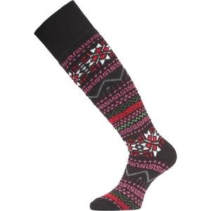 Lyžiarske ponožky Lasting SKW 903 čierna, Lasting