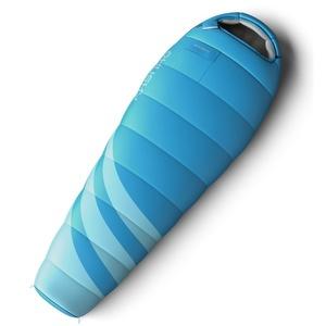 Set spací vrece Husky Ladies Majesty -10°C modrý + Karimatka Husky akord 1,8 modrá Zadarmo, Husky