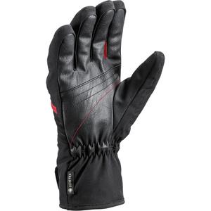 Lyžiarske rukavice LEKI spox GTX black / red, Leki
