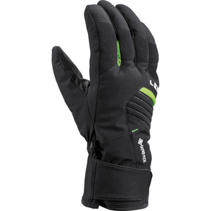 Lyžiarske rukavice LEKI spox GTX black / lime, Leki