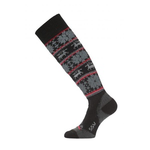 Lyžiarske ponožky Lasting SSW 903 čierna, Lasting