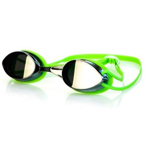 Plavecké okuliare Spokey Sparky zelené, zrkadlová sklá, Spokey