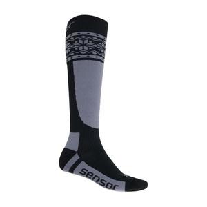 Ponožky Sensor Thermosnow NORWAY čierna / šedá 17200088, Sensor