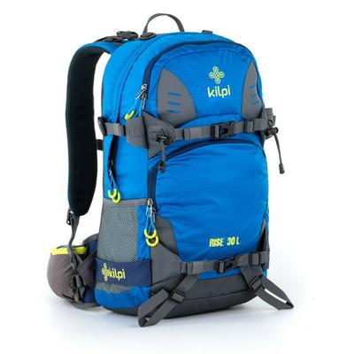 Freeride a skialpový batoh Kilpi RISE-U modrý, Kilpi