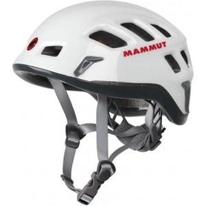 horolezecká helma Mammut Rock Rider white-smoke veľkosť 1, Mammut