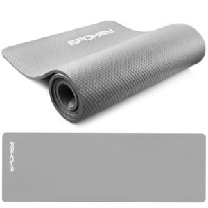 Podložka na cvičenie Spokey SOFTMAT sivá 1,5 cm, Spokey