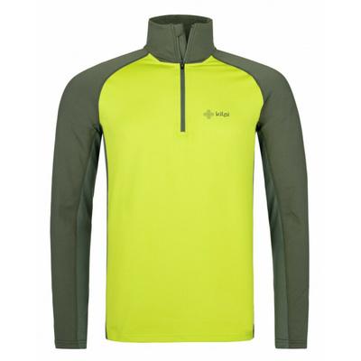 Pánske funkčné tričko s dlhým rukávom Kilpi WILLIE-M svetlo zelené, Kilpi