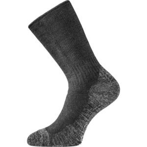 Ponožky Lasting WSM-909 čierne vlnené, Lasting