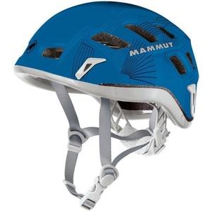 horolezecká helma Mammut Rock Rider 52-57cm šedá / modrá, Mammut